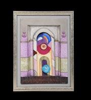 Porte Trompe L'Oeil / Collection: Ouverture sur le monde. K-Zi-Yak