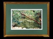 Sous Bois Buèges / Collection: Cinquante nuances de vert. K. Zi. Yak