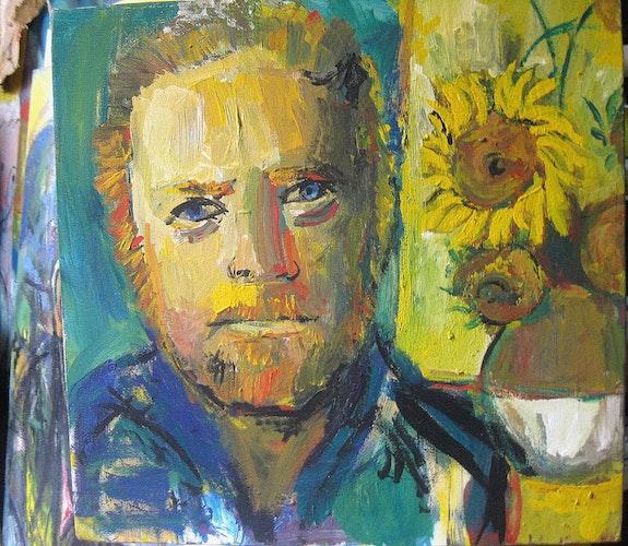 Portrait of Vincent van Van Gogh -. Shakeh Sarookhanian Shakeh Sarookhanian