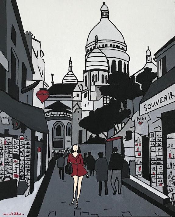 Montmartre. Pierre Montillo Artiste