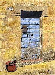 Bleu Toscane.