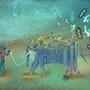 Elephant gan. Léon Sar