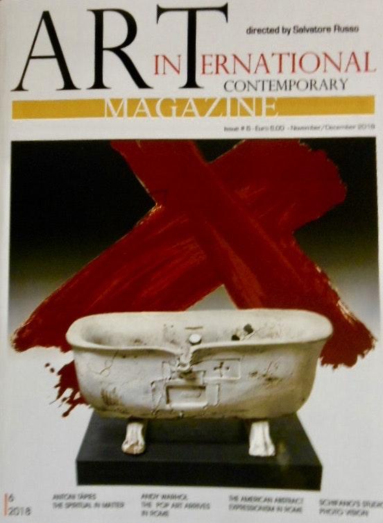 Livre art international contemporary 2018.  Berrut. Re. Inus