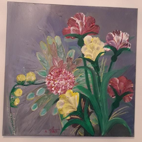Fleurs sauvages 2.  Assia Ddarai
