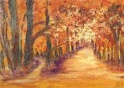 La feuille d'automne.