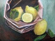 Zitronen in der Tüte.