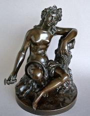 «Bacchante» d'après James Pradier. Marc Menzoyan Antiquités