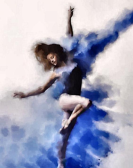 Chaussons de danse. Marie Carteron Marie Carteron