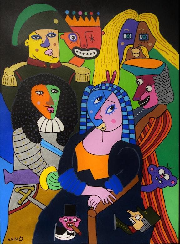 «Lisa et les Grands hommes». Erno Erno