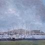 Port au nord de Dublin. Jacques Segui