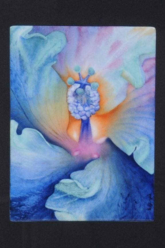 Coeur d'Hibiscus Couleur - Collection: Triptyque. K-Zi-Yak K. Zi. Yak