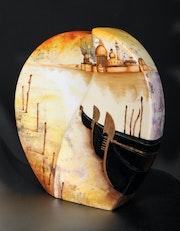 Vase scène vénitienne - Collection: Décoration d'intérieur. K. Zi. Yak