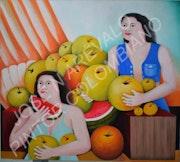 Vendedora de Frutas. Jose Arevalo