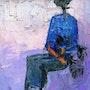 Blue black lady. Conseiller Artistique