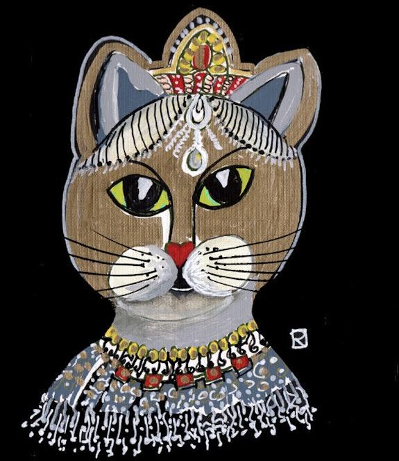 La chatte reine. Relindis Relindis