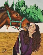 Beso equino - Baiser équin. Emota