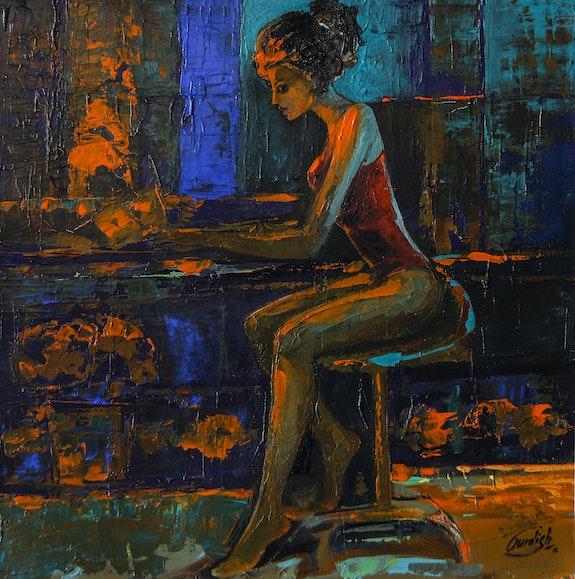 The light behind her window. Gurdish Pannu Gurdish Singh