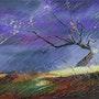 Orage en violet. Arina Tcherem