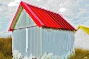 Cabane de pêcheurs. Serge Nouchi
