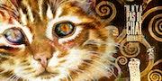 Chat Klimt - Aquarelle & Art Numérique.