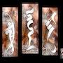 Calligraphie Elan - Calligraphie encre & Art Numérique - Digigraphie el. Tinarebou