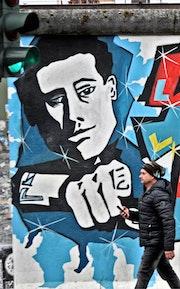 Berlin, le mur, désir désigné. Hervé Hameury
