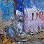 Village mediterraneen. Jacques Donneaud