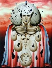 Éclosion (Peinture réalisée en 1991.