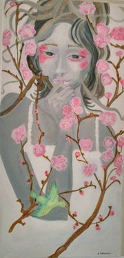 Dans la nature, elle réfléchit.. Brigitte Perocheau