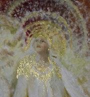 Détail du tableau «Apparition».