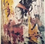 Femme bijoux. Nathalie Okra
