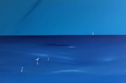 """Deep Blue"" 77x51x2cm."