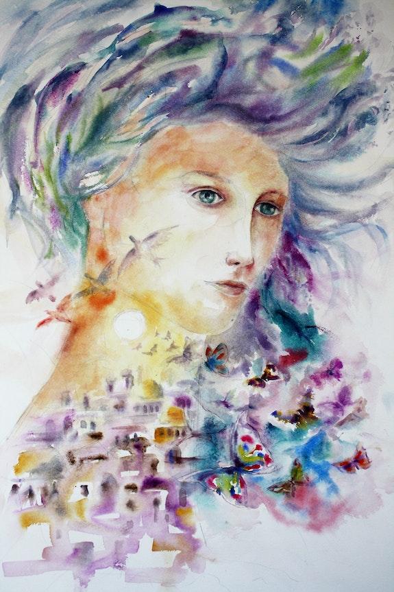 La femme lumière 01. Marwan Abousekke Marwan Abousekke