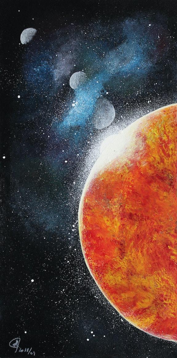 Luminescence -Les mystères de l'Univers. Sanée Ghislaine Gabet