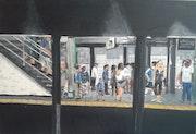 Öffentliches Stadtzentrum New Yorks U-Bahn. Didier Brügger