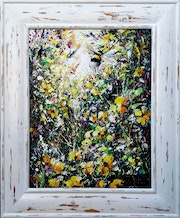 Impressionist paintings of flowers -'Natures Gift'.