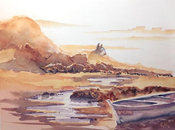Les rochers d'Essaouira. Guy Rossey Guy Rossey