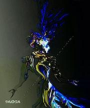 Le Joker et L'oiseau Bleu.