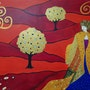 Inspiration Klimt. Sophie Ackermann
