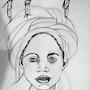 Illustration Afrique. Magali Rousseau