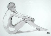 Male Nude Akt # 3484 (1993). Hajo Horstmann