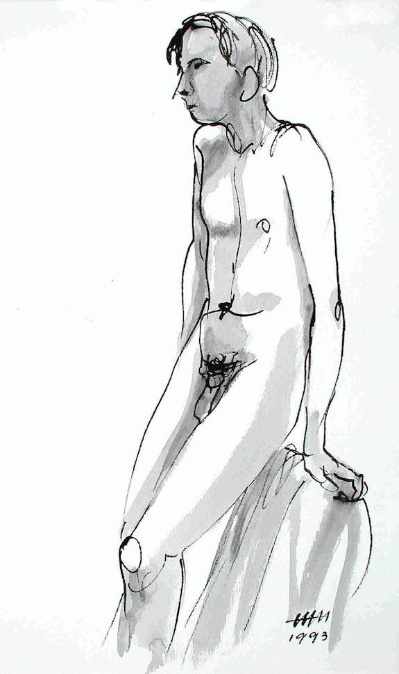 Male Nude Akt # 3565 (1993). Hajo Horstmann Hajo Horstmann