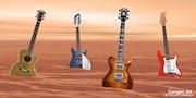 4 Guitarres.
