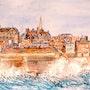 Remparts de St Malo. Sylvie-Gourmelon