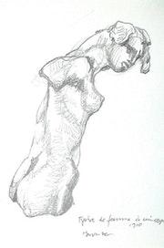 Musée Rodin, Paris. Figure de femme (1997). Hajo Horstmann