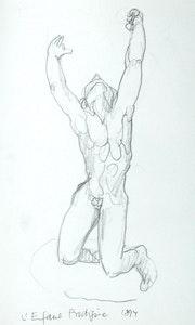 Musée Rodin, Paris: L'Enfant Prodigúe (1997). Hajo Horstmann