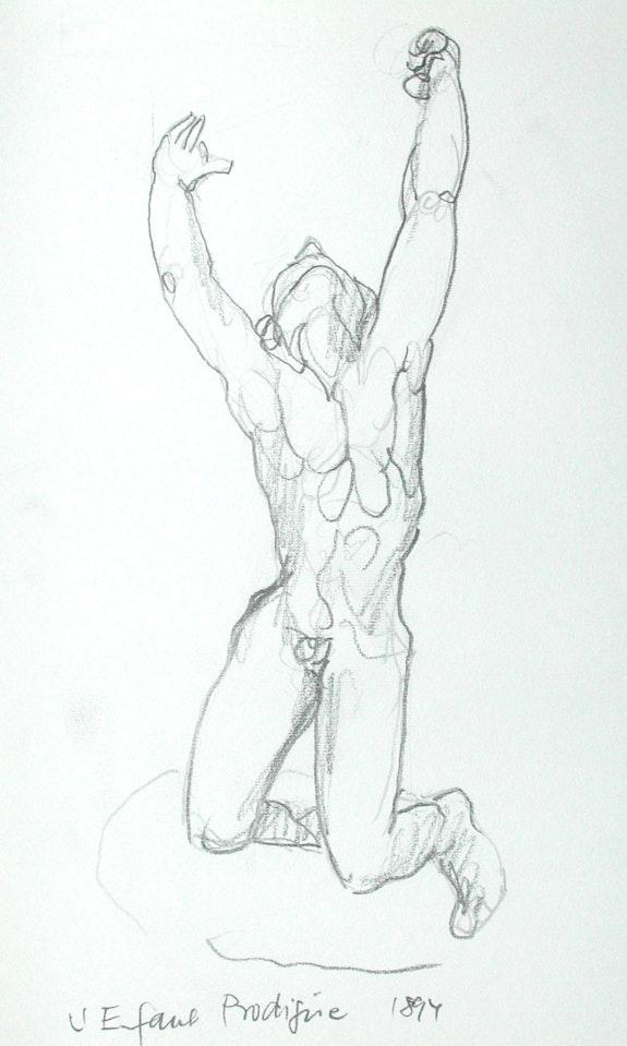 Musée Rodin, Paris: L'Enfant Prodigúe (1997). Hajo Horstmann Hajo Horstmann