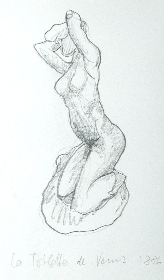 Musée Rodin, Paris: La Toilette de Venus (1997). Hajo Horstmann Hajo Horstmann