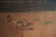 Death of Sri Chaitanyadev. Abundant Art Gallery