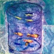 « Les Poisons Rouges » hommage à Matisse 2018. Patrick Baillet